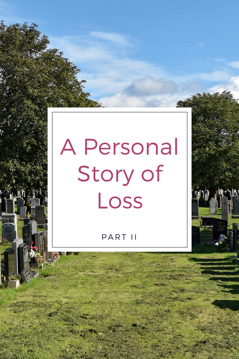 a personal story about loss Personal stories of loss can inspire and provide hope during dark times 10 listening to a patient's story of loss or illness is central to grief support it can be beneficial for a grieving person in integrating, healing & recovering from the loss.